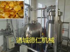 香菇片加工设备低温真空油炸机_机器厂家