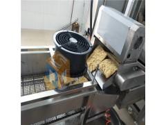 薄脆油炸生产线 全自动炸薄脆机 煎饼果子薄脆电加热油炸机