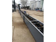 按图定制刮板式输送机  矿粉用埋刮板运输机