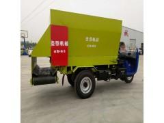 全自动饲料撒料车 电动三轮撒料车价格 撒料车生产厂家
