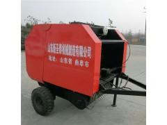 麦秸打捆机 自走式秸秆打捆机 小型捆草机 麦秸自动捡拾打包机