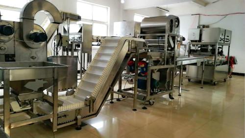 食用菌除尘安检设备生产线