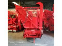 青储饲料机图片 回收玉米秸秆的机器 秸秆切碎回收机