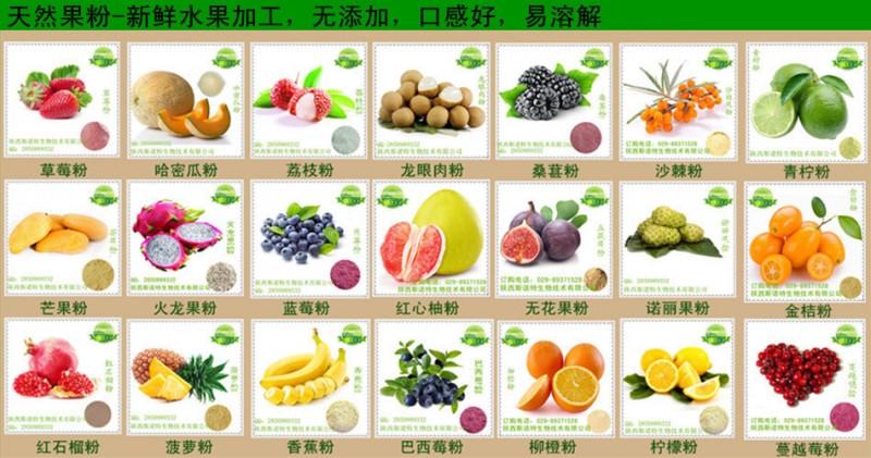 各种果蔬粉