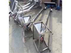 耐高温不锈钢螺杆上料机  159mm管径倾斜提升机