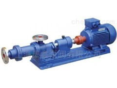 上海现货供应I-1B型螺杆浓浆泵