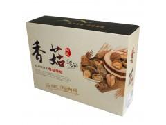 供应青川野生椴木香菇250g/盒