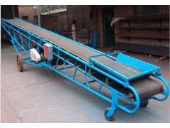 500mm宽圆管大架输送机  高低可调式移动皮带机