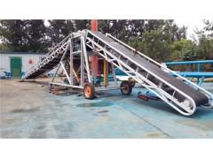柴油动力双升降输送机 800mm宽移动式传送机