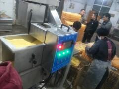 暴走鸡排生产线(成型机 上浆机 上糠机 油炸机)鸡排油炸机