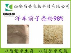 洋车前子壳粉 98%膳食纤维 厂家现货包邮 圆苞车前子壳粉