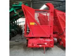 小马力带秸秆回收机 无土秸秆回收机 玉米秸秆青贮机价格