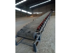 土方装卸车移动传送机 1500mm宽防滑带输送机
