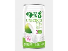 厂家直供椰花香鲜榨椰汁饮料310ml*24罐订购有促销