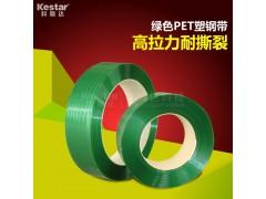 广东汕头龙湖区1608绿色pet塑钢打包带 广场砖打包带经销