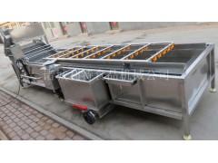 叶菜清洗漂烫机   蔬菜清洗漂烫生产线  净菜加工设备