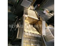 糯米丸自动上糠上屑机 香芋地瓜丸裹面包糠机 丸子上糠机