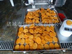 肉排上面包糠机 鸡肉饼上糠上屑机 牛排自动裹屑油炸机