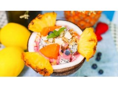 果王椰子碗加盟店火爆东莞能吃到的不仅仅是甜品