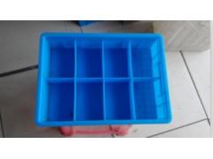 塑料分格盒,带格零件盒,分格零件盒