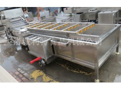 过滤循环蔬菜清洗机  蔬菜气泡清洗机  蔬菜清洗风干设备