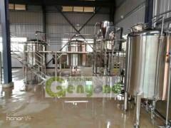 1000L/H蒸汽加热高出油率茶树精油纯露提取设备