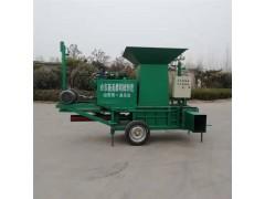 玉米青储打包机厂家 青储压块机现货供应 小型青储压块机
