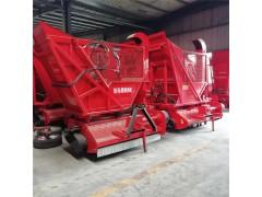全自动秸秆收获粉碎机 牧草收割机 拖拉机悬挂青储机