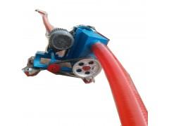双驱加长管抽灰机  电动软管式上料机 Lj1