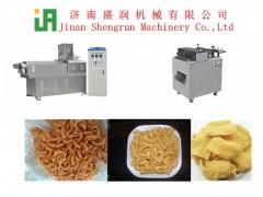 手工山药酥生产线 油炸食品生产设备 油炸锅巴膨化机生产线