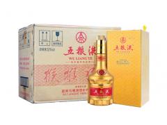 五粮液猴年纪念酒价格【金色瓶装】上海五粮液专卖02