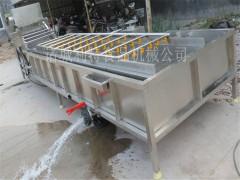 玉米高压气泡清洗机 玉米去须机器 玉米清洗加工设备