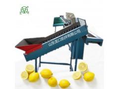 厂家直销全自动重量式柠檬分选机,水果分级机