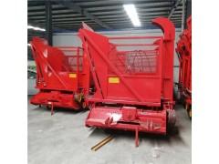 秸秆回收青储机 大型四轮带青储饲料机 悬挂秸秆回收机