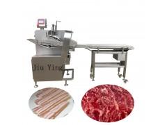 二维切片机哪家好 螺肉切片机 切火腿片,切鲜牛肉片机视频