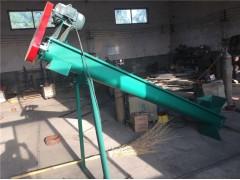 自吸式粉剂提升机 钢管两相电倾斜上料机