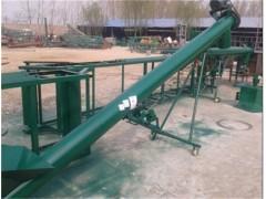108管径收粮用钢管提升机 污泥U型螺旋输送机品质