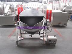 500升带温控式夹层锅夹层炒锅
