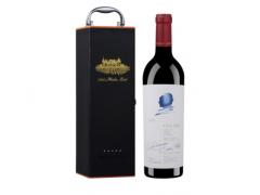 正品名庄红酒  作品一号  美国原瓶进口,正品行货08