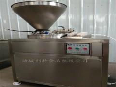 大肉片液压灌肠机 香肠灌肠机 全自动灌肠机厂家