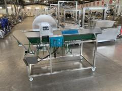 PB2000型自动化果蔬劈半机切半设备