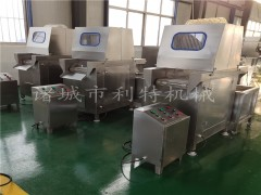 定制全自动羊肉盐水注射机 带骨盐水注射机视频  盐水注射机器