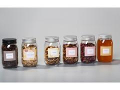 广东厂家直供 透明花茶、蜂蜜、咖啡豆塑料瓶 广口瓶