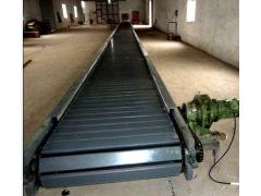 木箱用链板式输送机  包料用爬坡式运输机Lj1