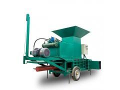 饲料方捆打包机 青储干储压块机 节能环保的饲料压块机