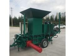 环保型秸秆压块机 玉米秸秆压缩打包机 全自动饲料打捆机