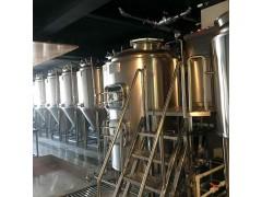 啤酒屋小型自酿啤酒设备价格,500升鲜啤酿造设备报价