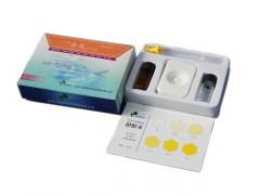 水中余氯快速自测盒/余氯快速试剂盒