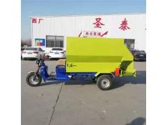 电瓶撒料车 抛料用三轮撒料车 省时轻便撒料车