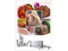 大豆组织蛋白生产线工艺介绍